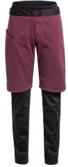 Vaude Womens All Year Moab 3in1 Pants w/o SC - cassis